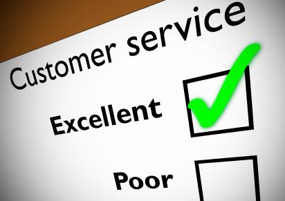 Customer service feedback